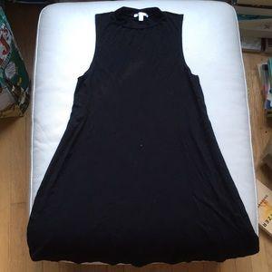 Abound Simple Black T-shirt Dress